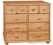 dřevěná komoda, prádelník z masivního dřeva borovice drewfilip 42