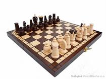 dřevěné šachy turistické Royal maxi 151 mad