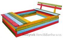zahradní dřevěná dekorace dětské pískoviště drewfilip 45