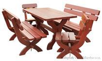 dřevěný zahradní nábytek K03 jandr