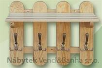 dřevěný věšák z masivu  drewm d30361