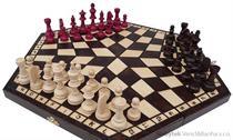 dřevěné šachy trojka velké 162 mad