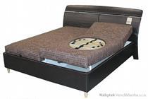 dvoulůžková čalouněná postel Pauline typ B polrym