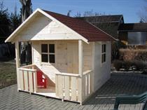 """dřevěná zahradní dekorace """"Dětský domek"""" N14 botodre"""