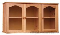 dřevěná kuchyňská skříňka závěsná horní z masivního dřeva borovice drewfilip 9