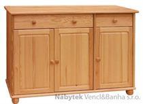 dřevěná kuchyňská skříňka dolní z masivního dřeva borovice drewfilip 10