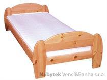 dřevěná dvoulůžková postel z masivního dřeva drewfilip 5 Gina