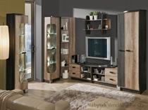 obývací pokoj, jídelna, sektorový nábytek z dřevotřísky Romero dolm