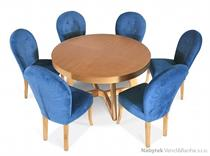 dřevěný jídelní stůl rozkládací Rondo chojm