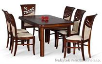 jídelní dřevěný rozkládací stůl S19 chojm