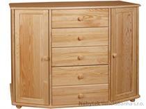dřevěná komoda, prádelník z masivního dřeva borovice drewfilip 25