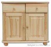 dřevěná kuchyňská skříňka dolní z masivního dřeva borovice KD139 pacyg