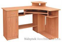 psací rohový stolek Mariusz vanm buk akce