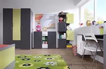 moderní dětský pokoj, studentský pokoj  z dřevotřísky Lido 8 gib