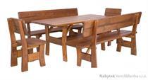dřevěný zahradní nábytek 1S+2L+2K MO261 pacyg