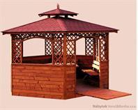 dřevěné prvky na dřevěný zahradní altán zahradní dekorace drewfilip 3