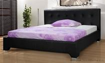 dvoulůžková čalouněná manželská postel Nefryt 200 chojm