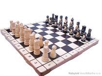 dřevěné šachy vyřezávané POP 132 mad