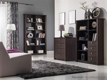 sestava nábytku, obývací pokoj z dřevotřísky Finezja maride