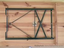 dřevěný zahradní nábytek pivní set Bawaria 220x50 skladem