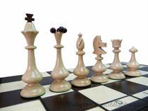 dřevěné šachy umělecké BESKID 166 mad