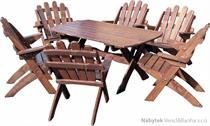 dřevěný zahradní nábytek Skládací drewfilip 31