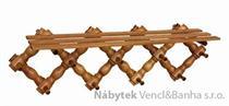 dřevěný závěsný věšák z masivu drewfilip 28
