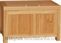 moderní dřevěná komoda, prádelník z masivního dřeva borovice DEL SOL skrzynia drewfilip 7