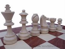 dřevěné šachy turnajové TOURNAMENT7 97 mad