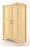 dřevěný stylový prádelník, komoda z masivního dřeva borovice Castello CAS-S-19 drewm