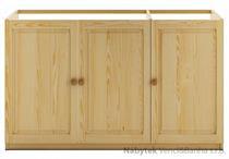 dřevěná dřezová kuchyňská skříňka KW111 pacyg