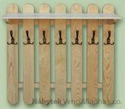 dřevěný věšák z masivu  drewm d29350
