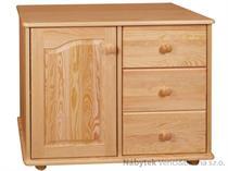 dřevěná komoda, prádelník z masivního dřeva borovice drewfilip 40