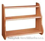 dřevěná závěsná polička z masivního dřeva borovice drewfilip 18