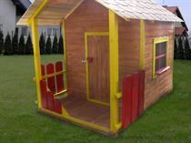 """dřevěná zahradní dekorace """"Dětský domek"""" N4 botodre"""