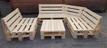 paletový dřevěný zahradní nábytek z palet Rogowy botodre
