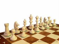 dřevěné šachy turnajové TOURNAMENT 3 93 mad