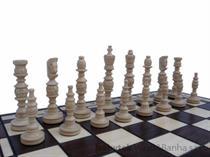 dřevěné šachy umělecké GALANT 109 mad