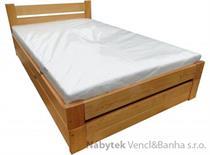 dřevěná jednolůžková postel s úložným prostorem Gracja chalup