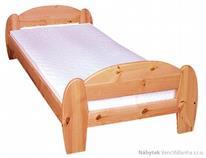 dřevěná jednolůžková postel z masivního dřeva drewfilip 5 Gina