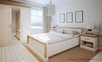 sektorový nábytek, sestava nábytku do ložnice z dřevotřísky Royal gala