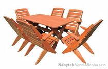 dřevěný zahradní nábytek vencl MO 109 pacyg