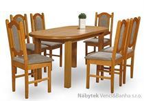 jídelní dřevěný rozkládací stůl S2 chojm