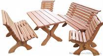 dřevěný zahradní nábytek vencl Park drewbo