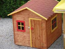 """dřevěná zahradní dekorace """"Dětský domek"""" N1 botodre"""