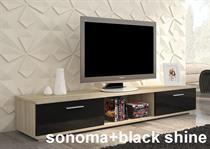 moderní televizní stolek RTV z dřevotřískové desky MDFSella adrk