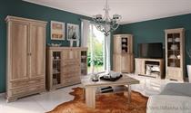 sektorový nábytek, obývací pokoj z dřevotřísky Kora gala dub canyon