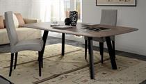 moderní dubový jídelní dřevěný rozkládací stůl S42 chojm