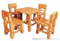 stylový dřevěný zahradní nábytek MO213 pacyg