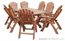 dřevěný zahradní nábytek K09 jandr